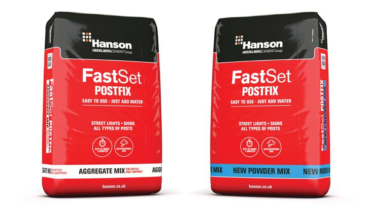 Hanson's Fast Set PostFix® now available in powder mix.