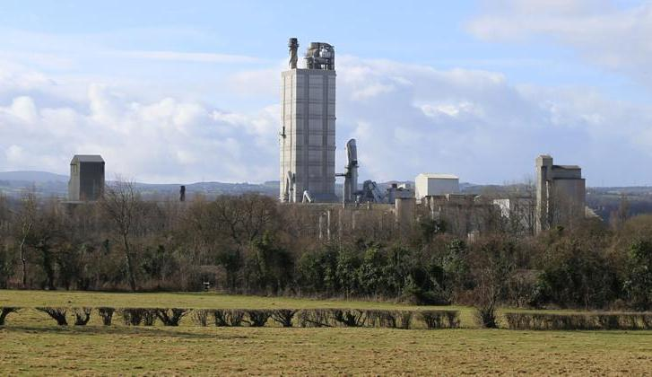 Padeswood cement works.