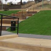 Payers Park Colourcrete project.