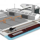 Victorial Deep Water Terminal artist impression.