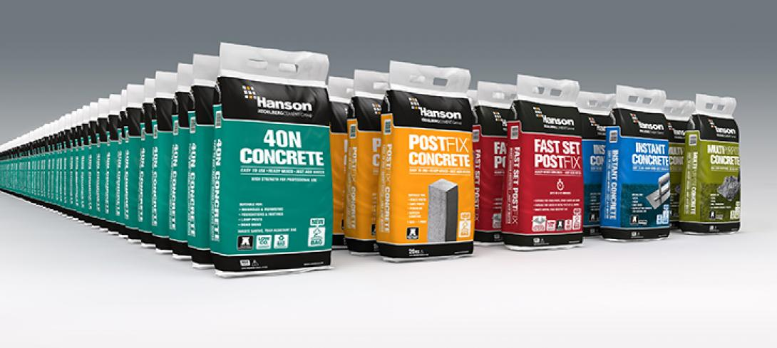 Packed Concrete Products.