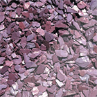 Plum Slate Chippings.