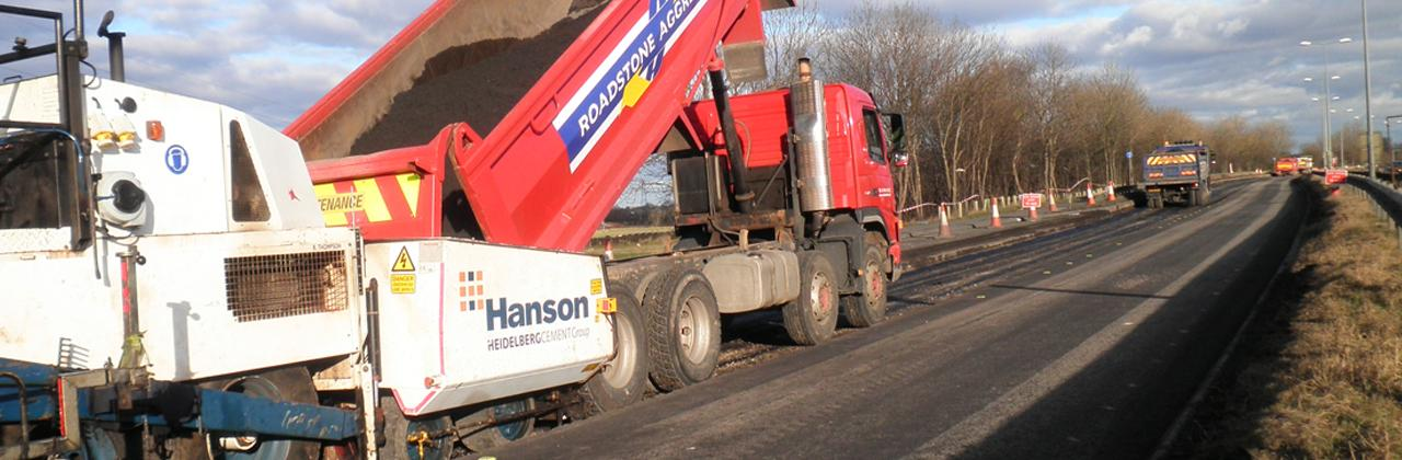 A66 Tar Bound Recycling.