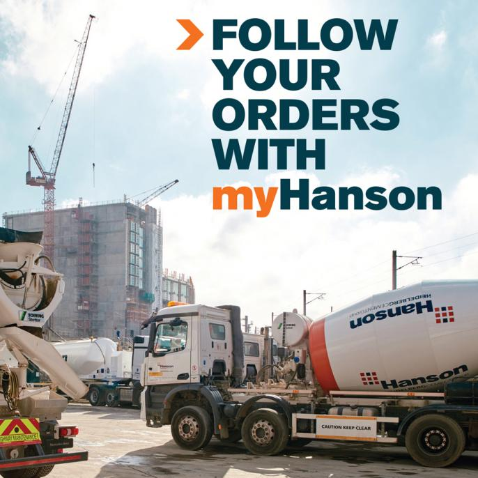 Follow your orders with myHanson.